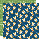 Let's go on - shy foxes 30,5x30,5 cm