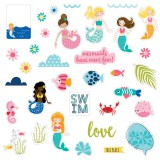 Secrets of the Sea Girl - Paper Pieces Die Cuts