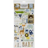 Baby Boy - Chipboard Accents