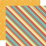 Back to School - School Stripes 30,5x30,5 cm