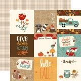 Celebrate Autumn - 4x4 Journaling 30,,5x30,5 cm