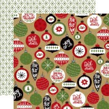 Celebrate XMas - Deck the Halls 30,5x30,5 cm