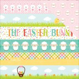 Celebrate Easter - Border Stripes 30,5x30,5 cm