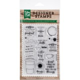 Coffee & Friends - Echo Park Stamps