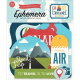 Go, See, Explore - Icon Die Cuts Ephemera