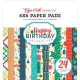 Happy Birthday Boy - Paper Pad 15,2x15,2 cm
