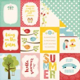 Happy Summer - Journaling Cards 3x4 inch