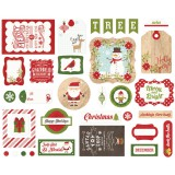 I Love Christmas - Die Cuts Ephemera
