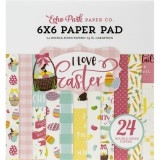 I Love Easter - Paper Pad 15,2x15,2 cm