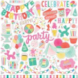 Let's Party - Element Sticker 30,5x30,5 cm