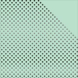 Black Dots Foiled Paper - Mint Black 30,5x30,5 cm