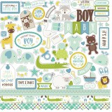 Sweet Baby Boy - Sticker 30,5x30,5 cm