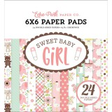 Sweet Baby Girl - Paper Pad 15,2x15,2 cm