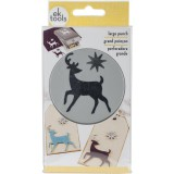 Elegant Deer - Large Punch von EK Success