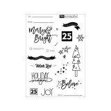 Merry & Bright - Clear Stamps