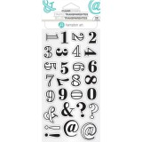 Layered Numbers - Clear Stamps