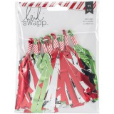 Oh What Fun - Red / Green Tassels