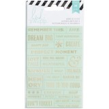 Heidi Swapp Stickers - Word Jubles Mint / Gold