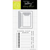 To Do List - Kelly Stamp & Cut
