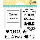 Fabulous - Jillibean Clear Stamps 4x4 inch