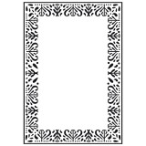 Embossing Folder - Decorative Frame