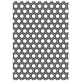 Honeycomb - Embossing Folder