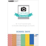 School Days - Captured Moments Cards