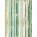 Sea Green Stripes - Wrapping Paper