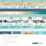 Summer Splash - Paper Pad 16,5x16,5 cm