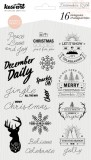 December 25th - Clear Stamps