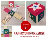 Kreativ Set 35 - Adventssonntagskalender