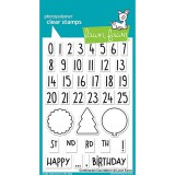 Celebration Countdown - Lawn Fawn Clear Stamps
