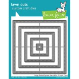 Large Dotted Squares - Lawn Cuts Stack Dies