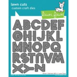 Oliver's Stitched ABC's - Lawn Cuts Die