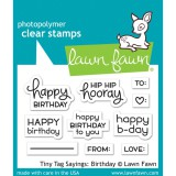 Tiny Tag Sayings - Lawn Fawn Clear Stamps