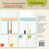 Double Dutch - Index Journaling Cards