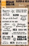 Beach Sentiments - Clear Stamps
