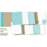 Snap Binder - Teal 6x8 inch