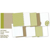 Snap Binder - green 6x8 inch
