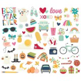 Best Year Ever - Bits & Pieces Die Cuts