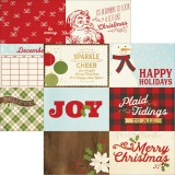 Classic Christmas - 4x6 horizontal Journaling Elem