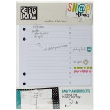 Carpe Diem - A5 Planner Inserts Daily Pages