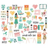 Hey Crafty Girl - Bits & Pieces Die-Cuts