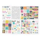 Crafty Girl - 4x6 Sticker Book / 8 Sheets
