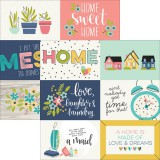 Domestic Bliss - 4x6 horizontal Journaling Elements 30,5x30,