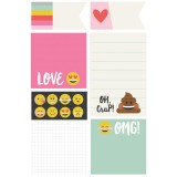 Emoji Love - Carpe Diem Sticky Notes