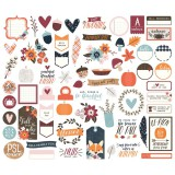 Forever Fall - Bits and Pieces Die Cuts