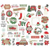 Merry & Bright - Bits and Pieces Die Cuts