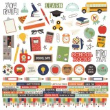School Rocks - Combo Stickers 30,5x30,5 cm