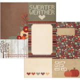 Sweater Weather - 4x6 / 6x8 inch Journaling Elemen